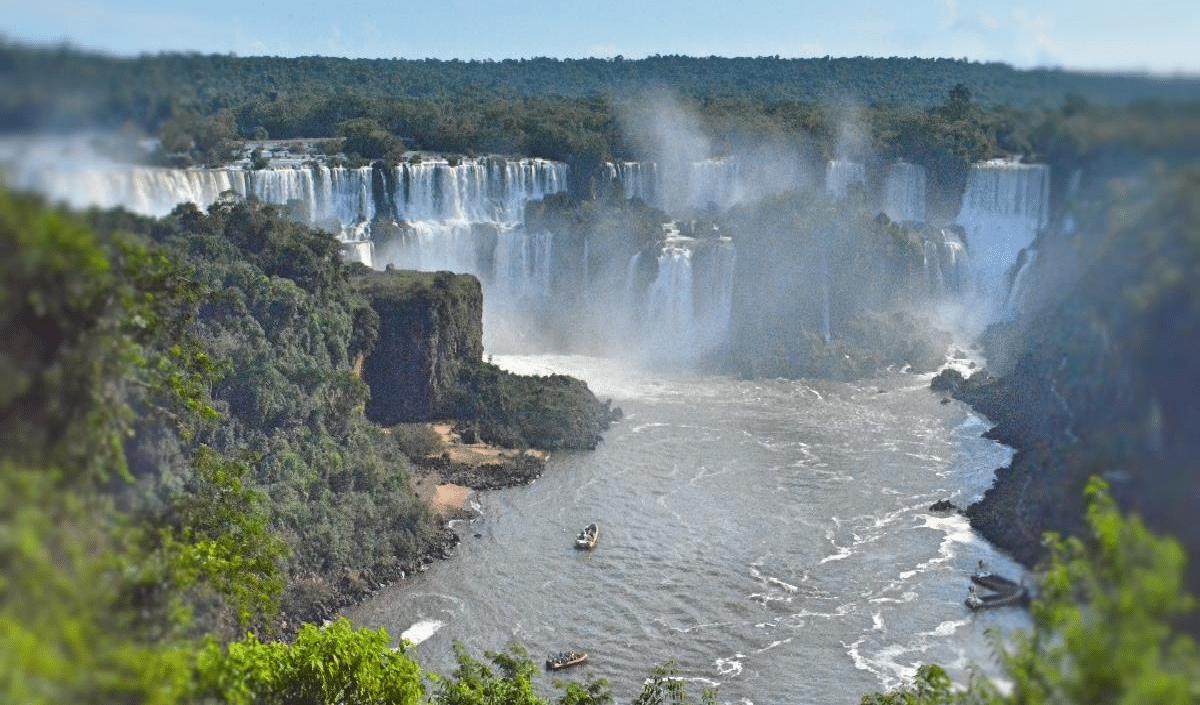 "Iguazu Falls - UNESCO declared the Iguazu National Park as ""World Heritage"""