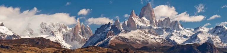 El Chalten and Fitz Roy Massif in Patagonia. RipioTurismo Incoming tour Operator Argentina and Chile