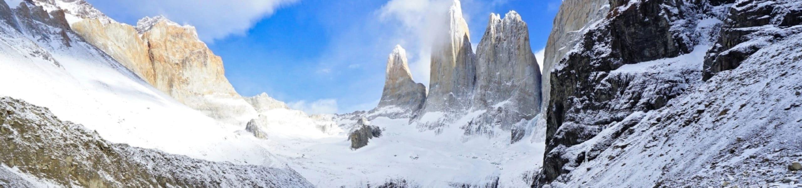 Buenos Aires, Ushuaia, Australis Cruise, Torres del Paine, El Calafate and Perito Moreno Glacier, Bariloche, Lakes Crossing, Puerto Varas, Santiago. RipioTurismo DMC for Argentina and Chile