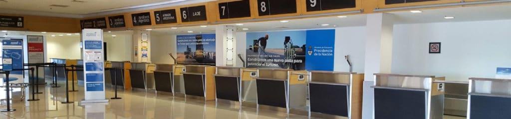 Almirante zar, Trelew Airport in Patagonia - RipioTurismo Incoming Tour Operator Argentina