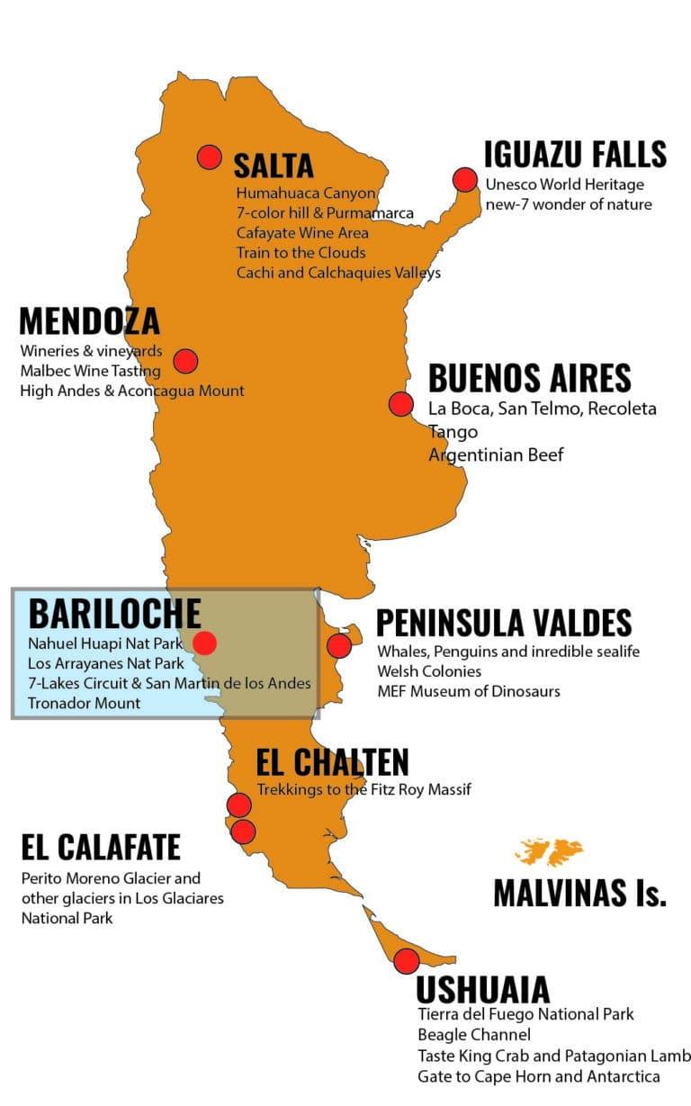 MAPA ARGENTINA DESTINOS - BRC_Mesa de trabajo 1