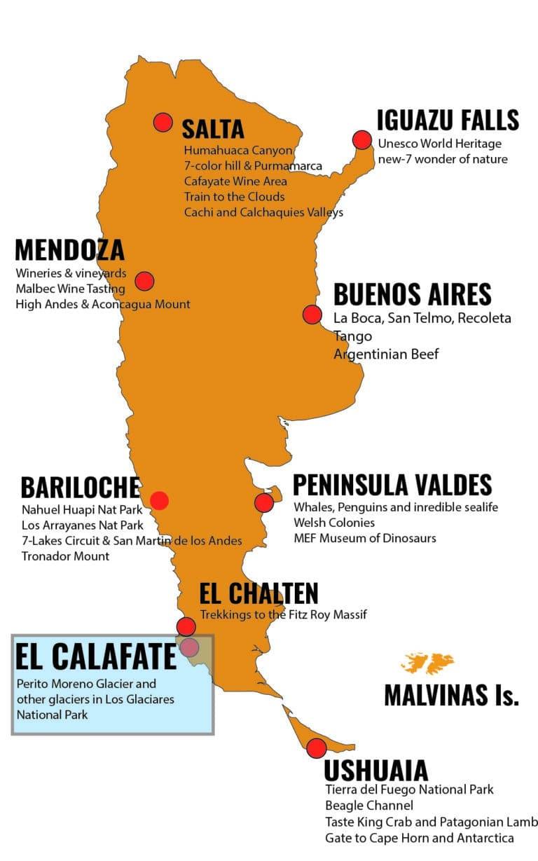 MAPA ARGENTINA DESTINOS - FTE_Mesa de trabajo 1