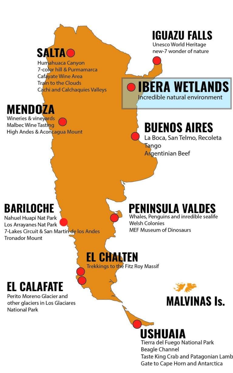 MAPA ARGENTINA DESTINOS - IBE_Mesa de trabajo 1
