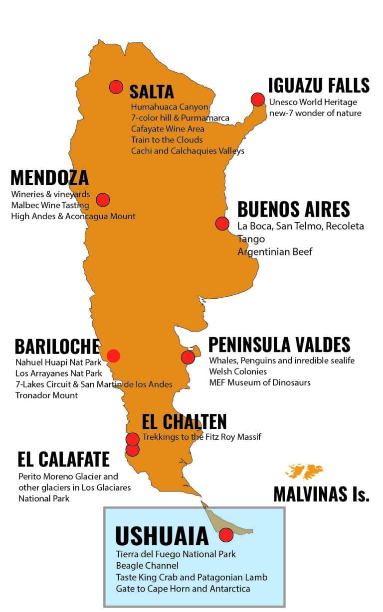 MAPA ARGENTINA DESTINOS - USH2_Mesa de trabajo 1