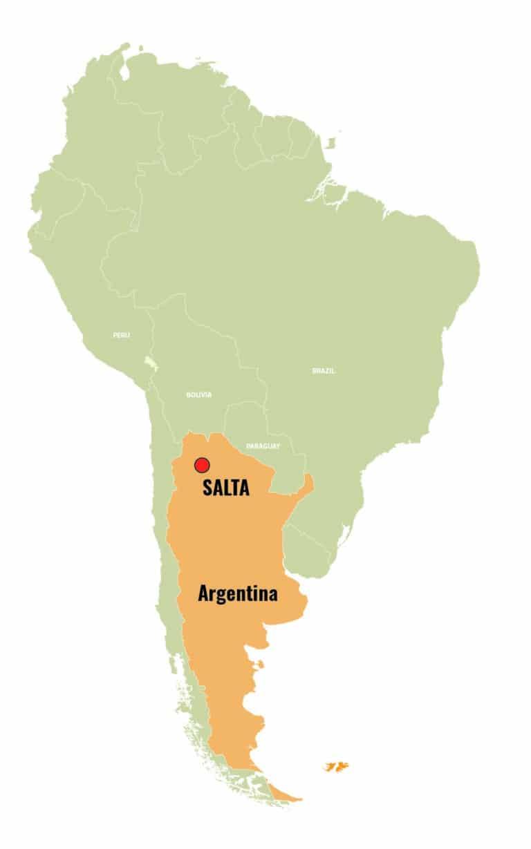 MAPA ARGENTINA IN SOUTH AMERICA - SLA_Mesa de trabajo 1