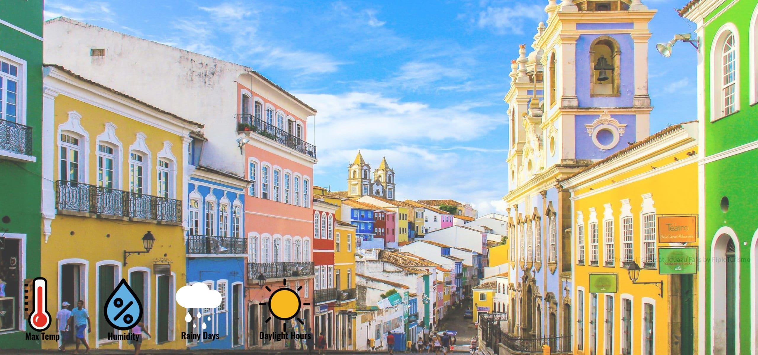 Weather in Salvador de Bahia. When to go to Salvador? RipioTurismo DMC for Brazil
