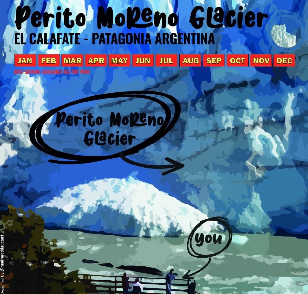 Perito Moreno Glacier - RipioTurismo DMC for Patagonia and Argentina