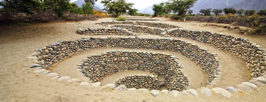Cantalloc Aqueduct in Nazca, Peru. RipioTurismo Incoming Tour Operator Peru and South America