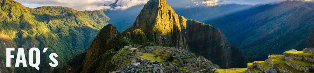 FAQ´s about Peru. Frequent Ask Questions in Peru - RipioTurismo Travel Agency in Peru