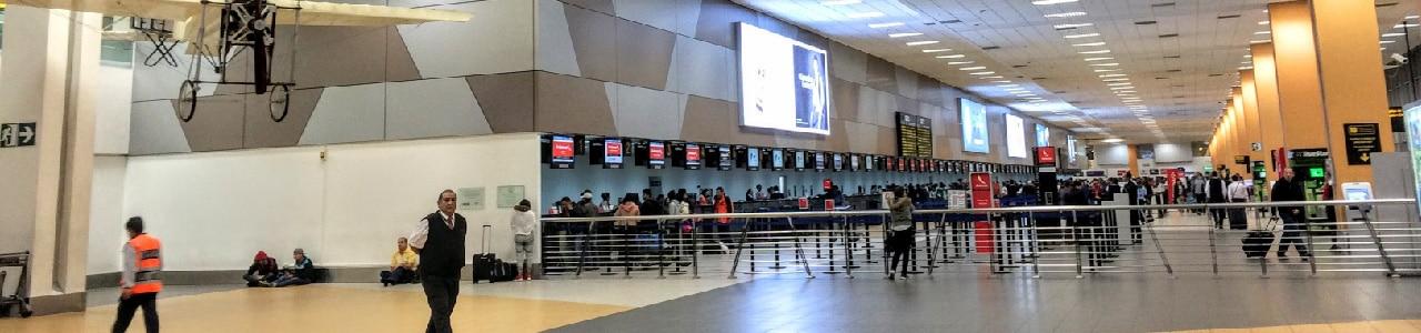 Lima International Airport - RipioTurismo Incoming Tour Operator Peru and Argentina