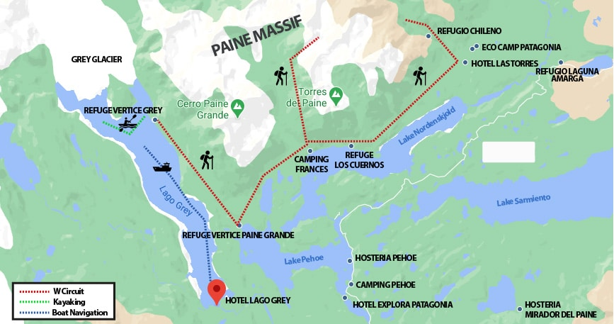 Accommodation in Torres del Paine National Park - RipioTurismo DMC for Patagonia
