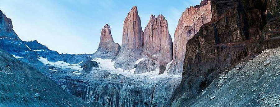 Las Torres, in Torres del Paine, Torres del Paine National PArk in Patagonia - RipioTurismo DMC for Argentina and Chile