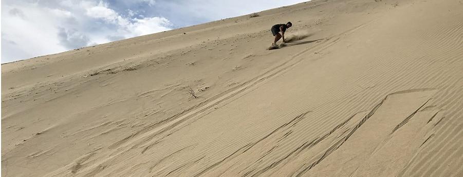 sandboard in Nazca, RipioTurismo Travel Company Peru