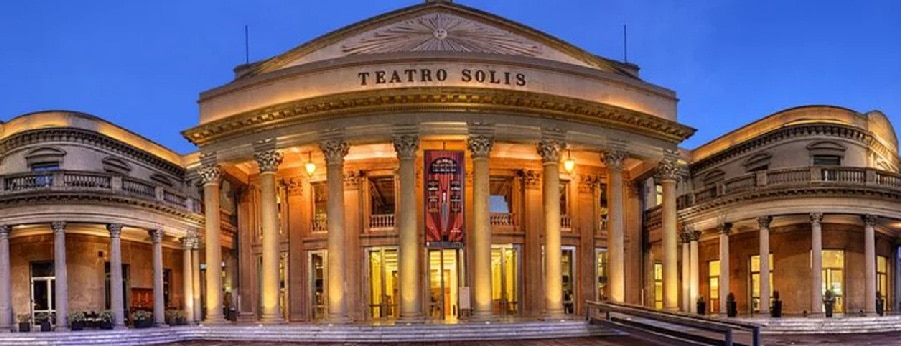 Solis Theatre in Montevideo, Uruguay. Visits in Montevideo by RipioTurismo DMC for Uruguay and Argentina
