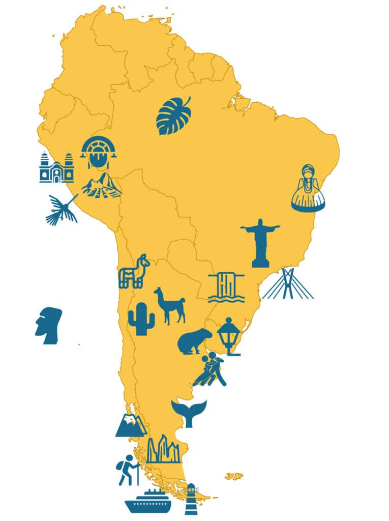 South America - Main Attractions