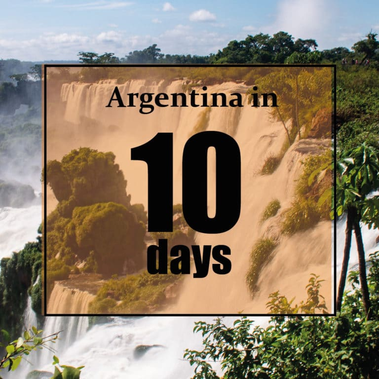 Argentina in 10 days. Tours to visit Argentina in 10 days
