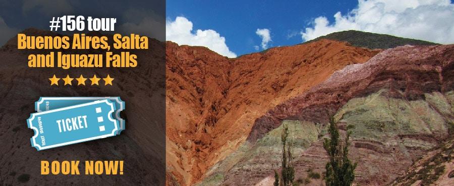 Buenos Aires, Iguazu Falls and Salta Tour. Visit the Argentinian North