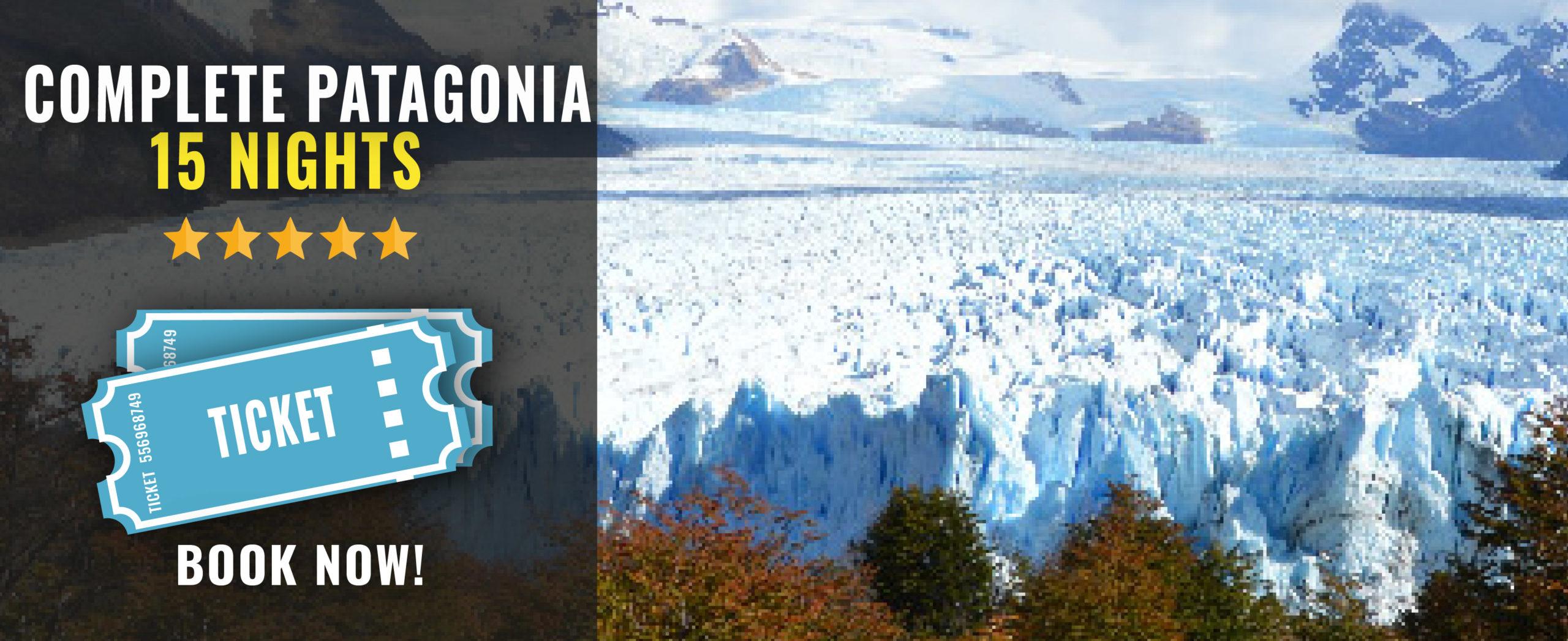 complete patagonia tour in Argentina