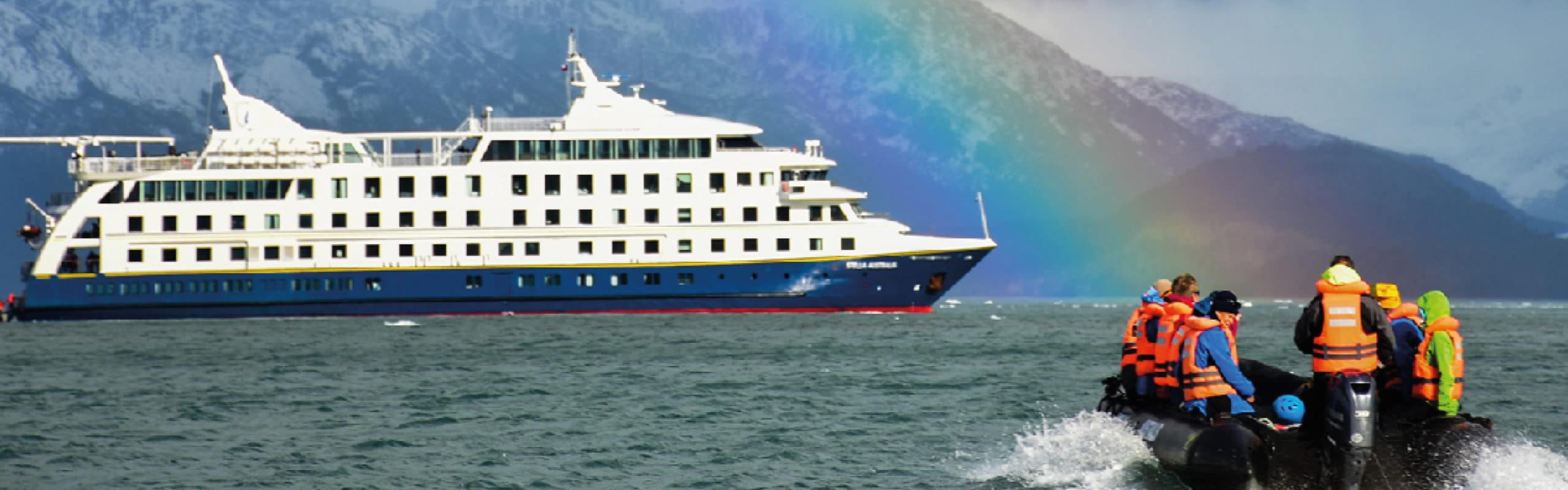 Australis Cruise expedition to Cape Horn and southern fjords in Patagonia