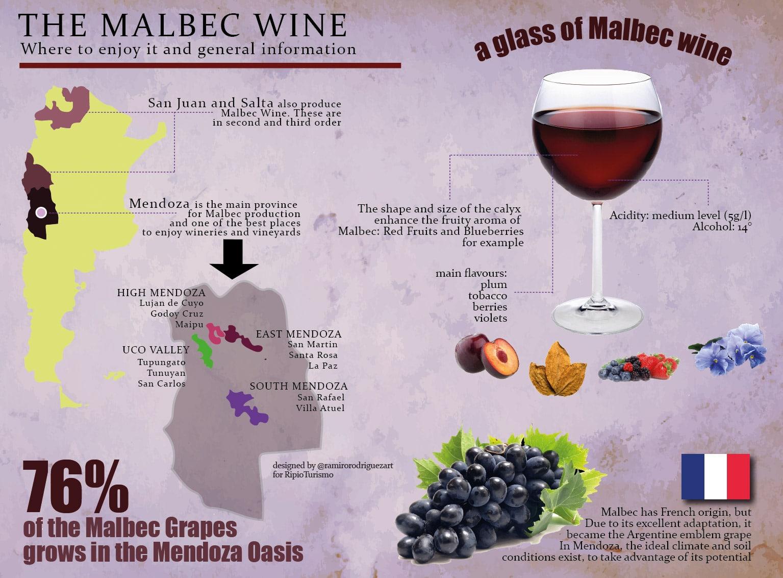 The Malbec Wine in Argentina: Mendoza