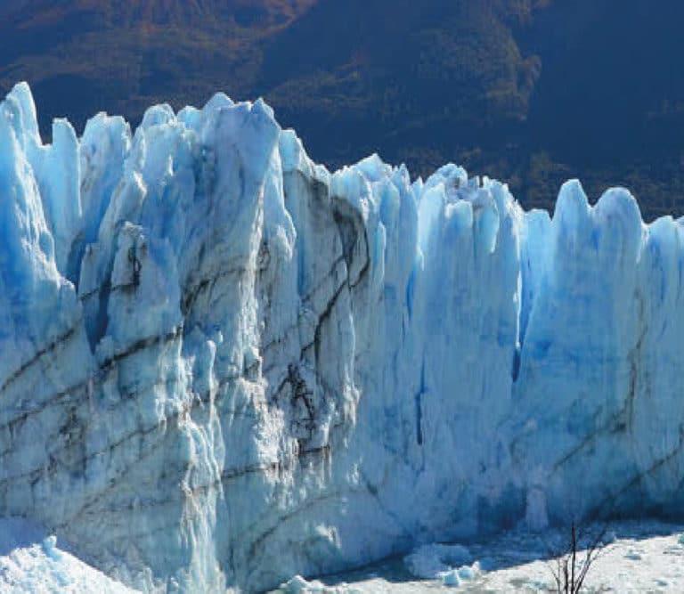 Perito Moreno Glacier in the Map
