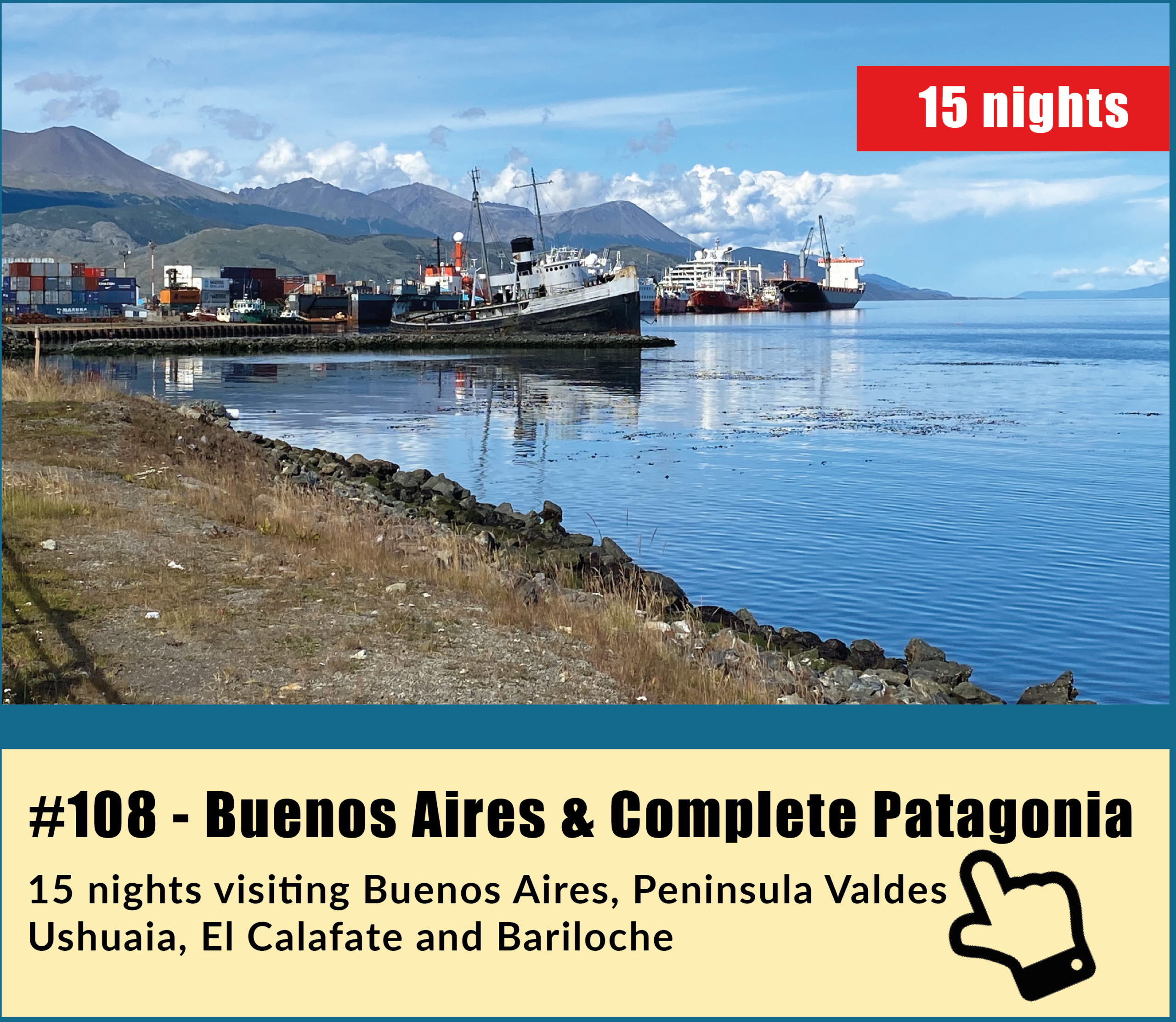 Buenos Aires and Complete Patagonia