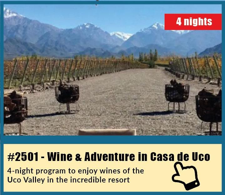 4-Night Wine & Adventure Tour in Casa de Uco, Mendoza