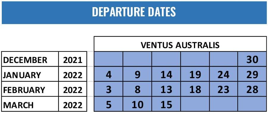 Australis Cruise - Special Departure 2021-2022