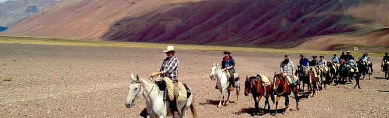 Horseback Riding from Mendoza to Piuquenes in the Andes