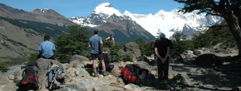 Trekking from Superior to Guillaumet Pass