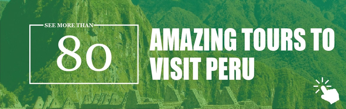 See a complete list of tours to vistit Peru