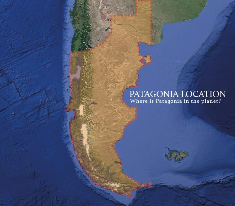 patagonia location map - Is Patagonia a country? Not, but there are two