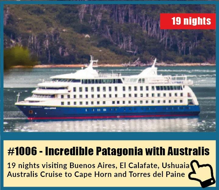 Incredible Patagonia with Australis Cruise