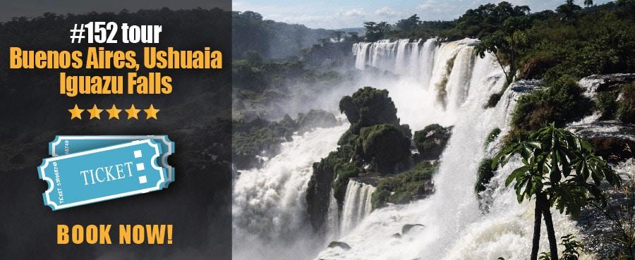 Buenos Aires, Ushuaia, Iguazu Falls Tour - Argentina Tours