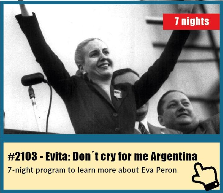 Eva Peron Tour in Buenos Aires, Argentina