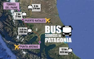 bus services in patagonia