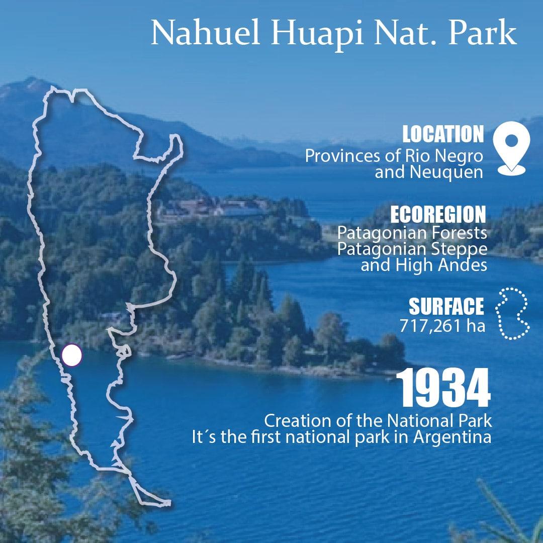 NAHUEL HUAPI NATIONAL PARK GENERAL FACTS