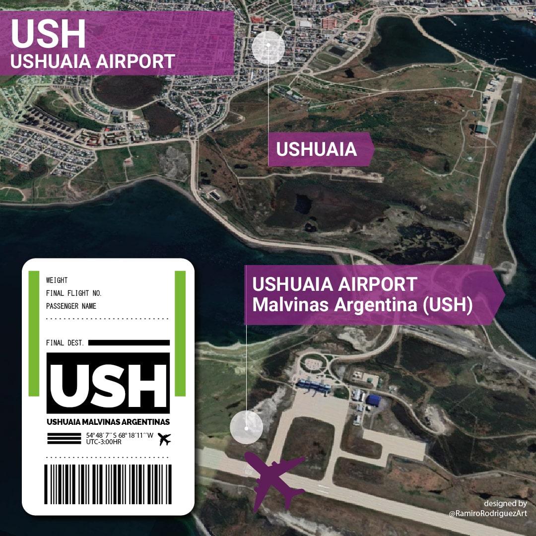 USHUAIA AIRPORT - USH_