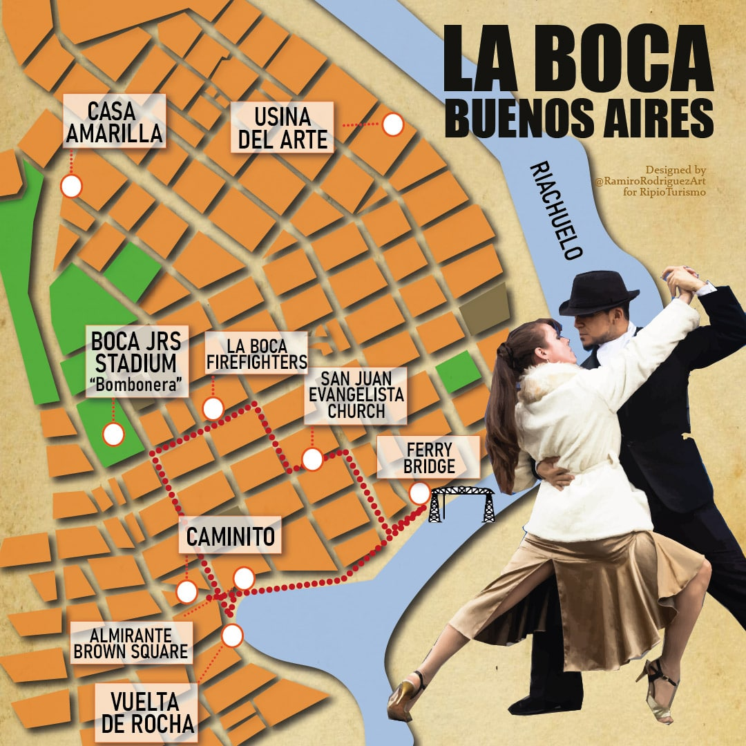 la boca neigborhood - La Boca Walking Tour, caminito, Boca Juniors Stadium La Bombonera